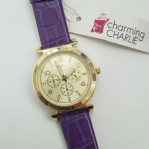 NWT Charming Charlie watch